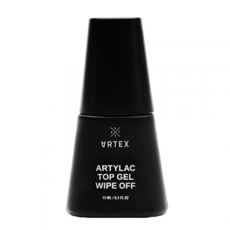 Artex, Топ для гель-лака Artylac Gel Wipe Off, 15 мл