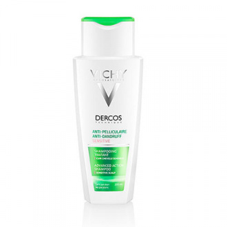 Vichy, Шампунь Dercos Anti-Dandruff Sensitive, 200 мл