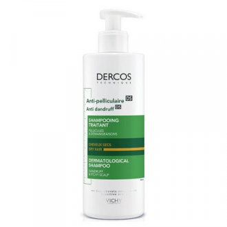 Vichy, Шампунь Dercos Anti-Dandruff Dry Hair, 390 мл