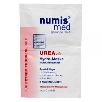 Numis Med, Маска для лица Urea 5% Hydro, 2х8 мл