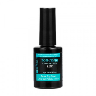 SOFIPROFI, Топ для гель-лака Lux, 10 мл