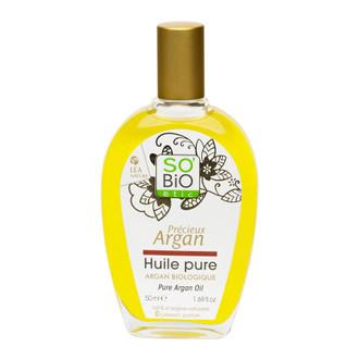 So'Bio etic, Масло аргановое чистое, 50 мл