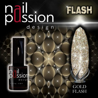 Гель-лак Nail Passion Gold Flash