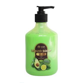We're We Care, Крем-мыло для рук Lime & Avocado, 400 мл