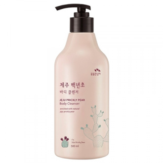 Flor de Man, Гель для душа Jeju Prickly Pear, 500 мл