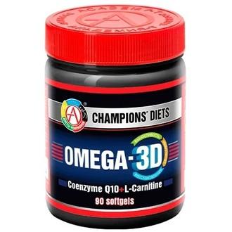 Академия-Т, Жирные кислоты Omega-3D, 90 капсул