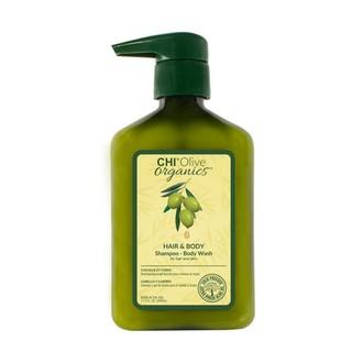 CHI, Шампунь для волос и тела Olive Organics, 340 мл