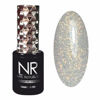 Nail Republic, Топ Diamond №4, 10 мл
