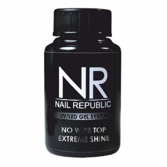 Nail Republic, Топ Extreme Shine No Wipe, 30 мл