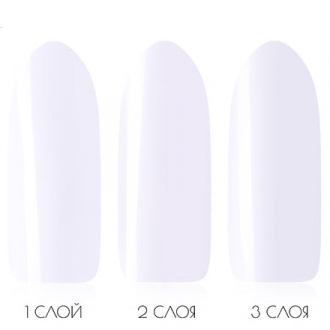 Гель-лак IQ Beauty №101, Super White