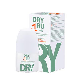 DRY RU, Дезодорант-антиперспирант для тела Forte, 50 мл