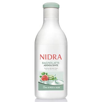 Nidra, Пена-молочко с инжиром и алое для ванны, 750 мл