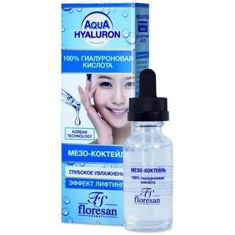 Floresan, Мезо-коктейль Aqua Hyaluron, 30 мл