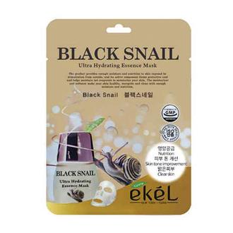 EKEL, Маска для лица Black Snail, 25 г