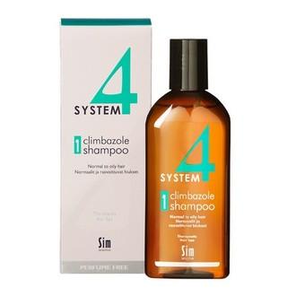 Sim Sensitive, Терапевтический шампунь System4 Climbazole №1, 215 мл