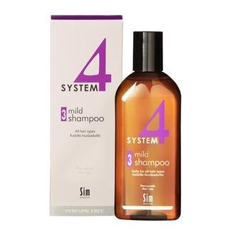 Sim Sensitive, Терапевтический шампунь System4 Mild №3, 215 мл