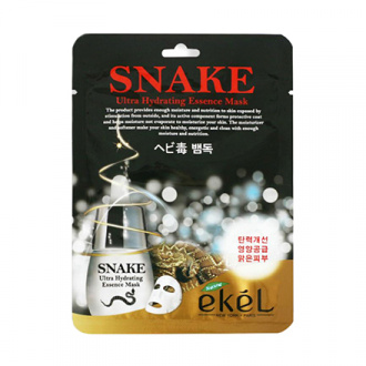 EKEL, Маска для лица Snake, 25 г