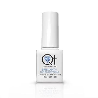 QT, Топ-блеск для гель-лака Brilliant+, 13 мл