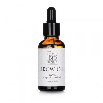 Bio Henna Premium, Масло для бровей, 15 мл