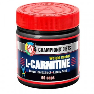 Академия-Т, Жиросжигатель L-Carnitine Weight Control, 90 капсул