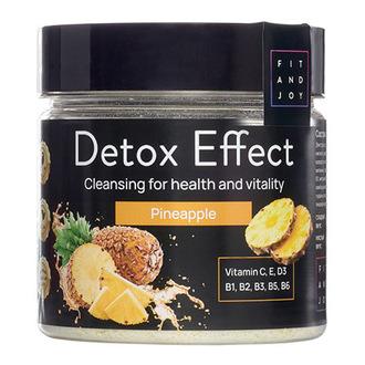 FIT AND JOY, Дренажный напиток Detox Effect Pineapple, 150 мл