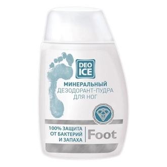 Deoice, Минеральная пудра для ног Foot, 50 г