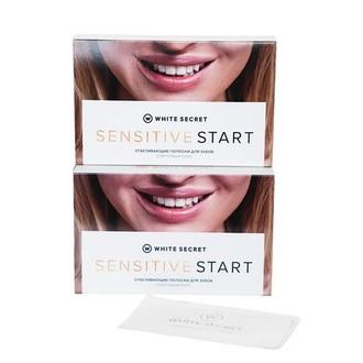 White Secret, Отбеливающие полоски Sensitive Start