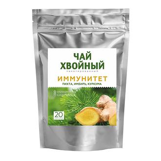 Сибирская клетчатка, Хвойный напиток «Иммунитет», 40 г