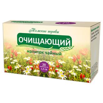 Сибирская клетчатка, Чайный напиток «Очищающий», 30 г