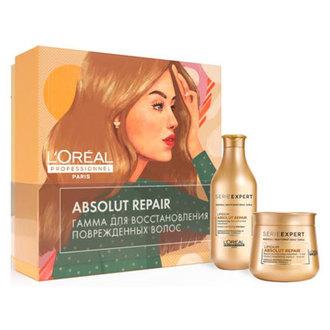 L'oreal Professionnel, Набор для поврежденных волос Absolut Repair