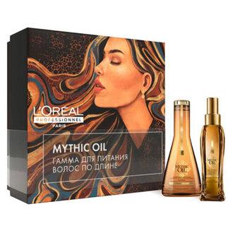 L'oreal Professionnel, Набор для питания и блеска волос Mythic Oil