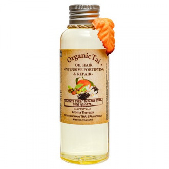 OrganicTai, Масло для волос «Укрепление и восстановление», 120 мл