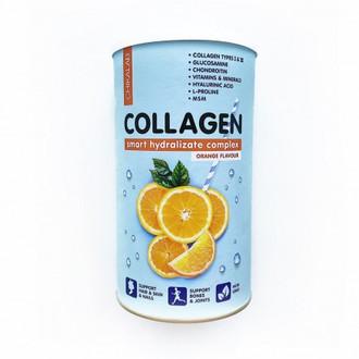Chikalab, Коктейль Collagen, апельсиновый, 400 г