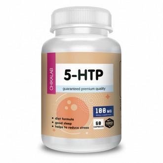 Chikalab, Комплексная пищевая добавка 5-HTP, 60 капсул