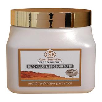 Care & Beauty Line, Маска для волос Black Mud & Zinc, 500 мл