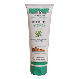 Care & Beauty Line, Крем для лица и тела Aloe Vera, 250 мл