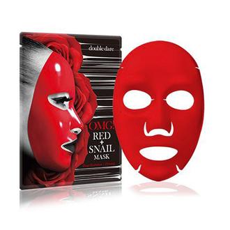 Double Dare, Тканевая маска для лица OMG! Red + Snail, 26 мл