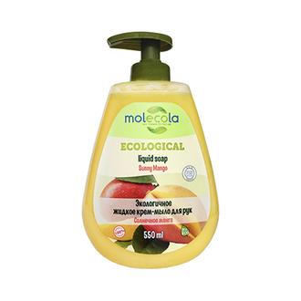 Molecola, Жидкое мыло для рук «Солнечное манго», 550 мл