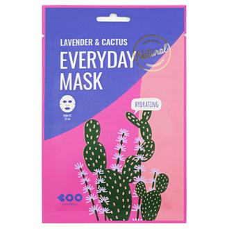 Dearboo, Маска для лица Lavender & Cactus, 27 мл