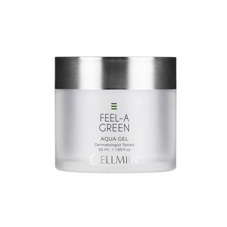 Cellmiin, Аква-гель для лица Feel-a-Green, 50 мл