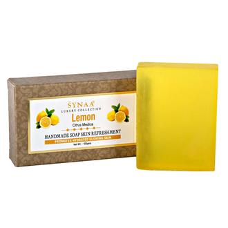 Synaa, Мыло ручной работы «Лимон», 100 г