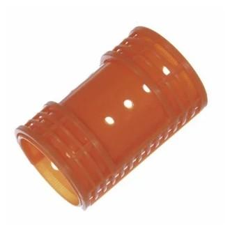 Melon Pro, Бигуди пластиковые, с зажимом, 38х65 мм, 12 шт.