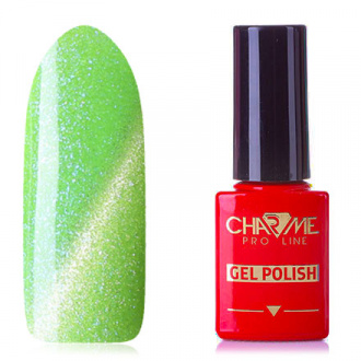 CHARME Pro Line, Гель-лак Diamond Cat's Eye, Light Green