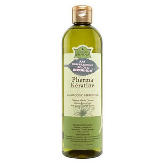 Greenpharma, Шампунь для волос Pharma Keratine, 500 мл