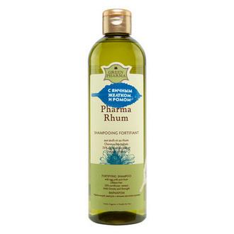 Greenpharma, Шампунь для волос Pharma Rhum, 500 мл