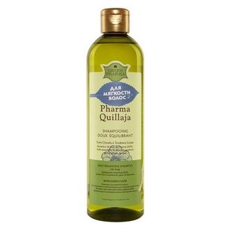 Greenpharma, Шампунь для волос Pharma Quillaja, 500 мл