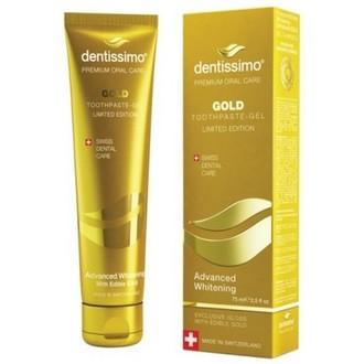 Dentissimo, Зубная паста Gold, 75 мл