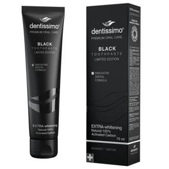 Dentissimo, Зубная паста Black, 75 мл