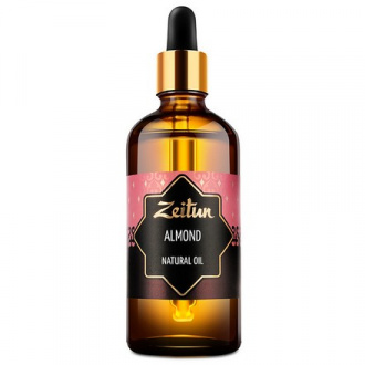 Zeitun, Натуральное миндальное масло, 100 мл