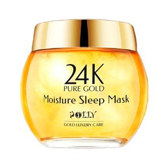 POLLY, Ночная маска с золотом 24К для лица, 120 г